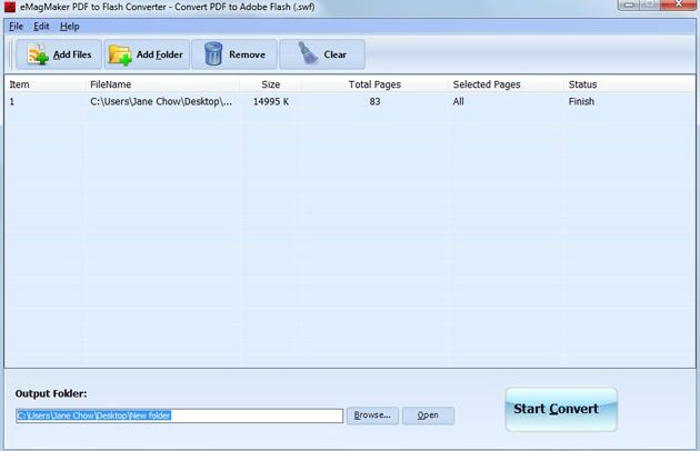 Free eMagMaker PDF to Flash Converter