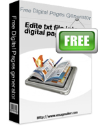 Free Digital Pages Generator: Free Digital Pages Generator