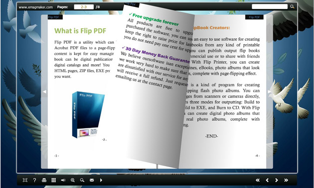 Free Flash Flip Magazine Creator
