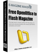 Free OpenOffice to Flash Magazine