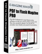 PDF to Flash Magazine Professional