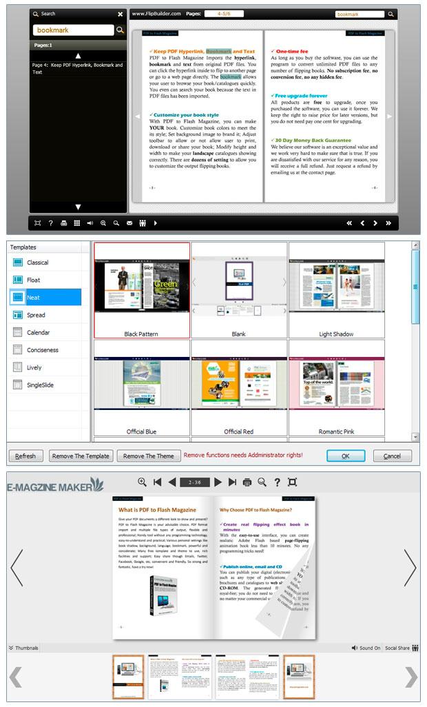 Windows 7 PDF to Flash Magazine 3.5 full