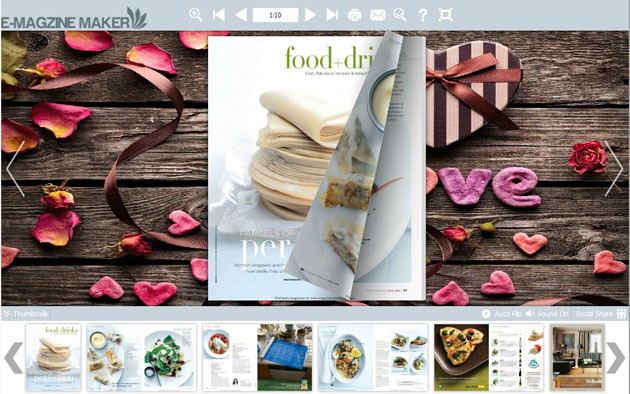 Loving Heart Neat Template Themes