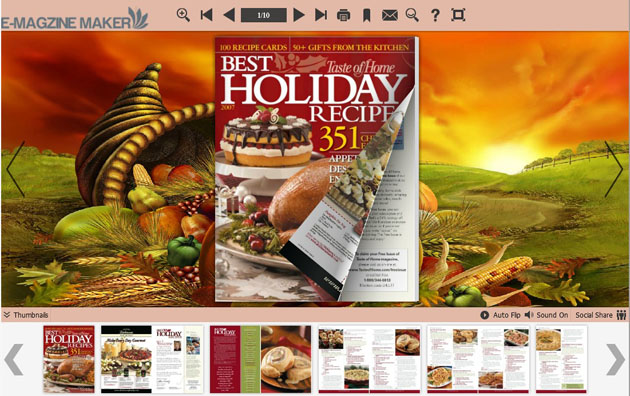 Thanksgiving Day Neat Template Themes