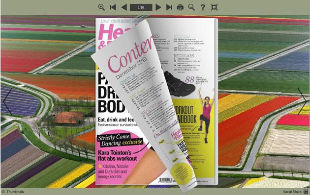 flash magazine themes for beautiful land style to make